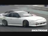 Nissan S13 Drifting Tandem Battle