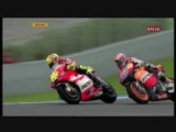 Rossi Vs Stoner Crash Jerez 2011