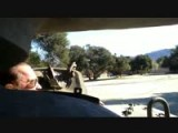 Riding In A Tank With Arnold Schwarzenegger