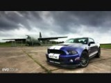 Shelby GT500 Mustang Vs. Mercedes C63 AMG Coupe Drag Race!