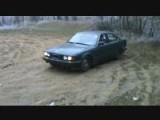 Thrashing BMW 520