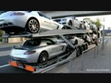 Truck Fully Loaded With Mercedes-Benz AMG's!!