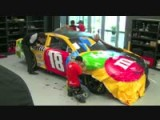 Toyota Camry 2013 Gets M&M NASCAR Wrap - Time Lapse