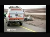 Thomas Bourgin Fatal Crash Aftermath @ Rally Dakar 2013