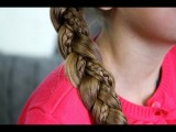 Simple Braid With Micro-Braids | Cute Girls Hairstyles