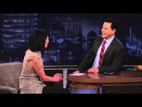 Lena Headey On Jimmy Kimmel Live PART 1