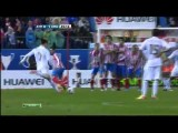 Cristiano Ronaldo AMAZING Free-kick And Curve GOAL Atletico Madrid Vs Real Madrid 11.04.2012