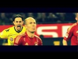 Subotic Trolls Robben After Miss!