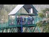 Blonde Paraplegic Girl Goes Bungee Jumping - Whistler, BC