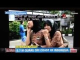 Clip From Indonesia Earthquake Sumatra 8.7 HD