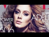 ADELE COVER Of VOGUE MAKEUP LOOK