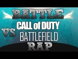 RAP BATTLE - Battlefield VS Call Of Duty : Le Clash !