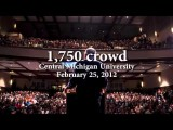 Witness The Power Of An Idea: Ron Paul Massive Rallies 2012