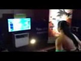 Adrianne Curry Playing Dragon Ball Z For Kinect