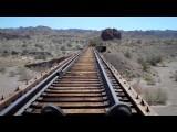 Go Karts On Railroad Tracks